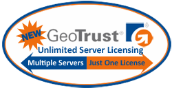 GeoTrust Unlimited Server Licensing