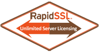 RapidSSL Certificates Include Unlimited Web Server Licensing