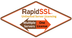 RapidSSL Unlimited Server Licensing
