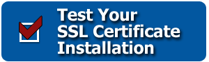 Check your SSL Certificate Installation