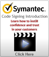Symantec Code Signing Certificate Demo