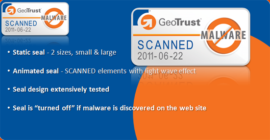 Geotrust Anti-Malware Website Scan Seal