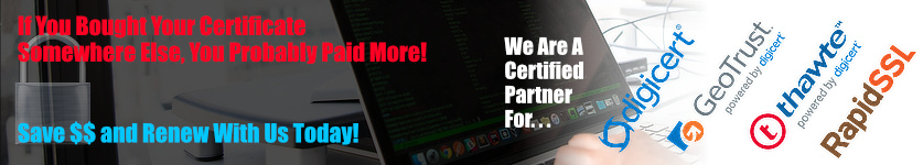 Renew Your SSL Certificates With Certs 4 Less and Save Lots Of Money