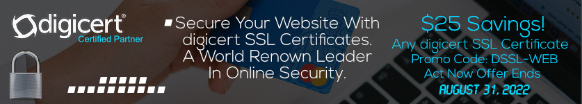 Certs 4 Less Is Offering $25 Off Any Symantec SSL Certificate During The Month of December