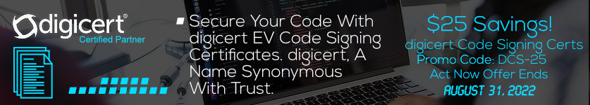 $25 Off Symantec Code Signing Certificate