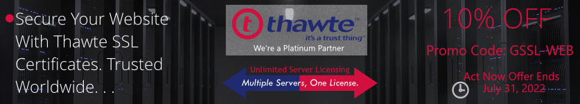 Certs 4 Less Is Proud to Announce Lower Pricing on all Thawte SSL Certificates