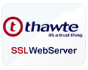 Buy Thawte SSL Web Server Certificate
