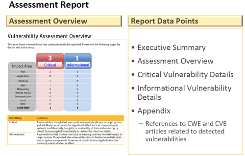 Free Symantec Vulnerability Assessment Report Page 1