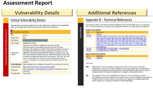 Free Symantec Vulnerability Assessment Report Page 2